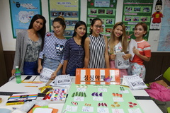 [King Sejong Institute, Cebu] Korea Culture experience - Korean money & Role playing - 'go to market'(1A-m1)._ 2018.03.14.